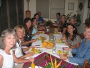 Dinner with the group at a Private Natural Reserve called Los Tarrales