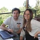 Team One: Lea Ritter (Guatemala/Germany) and Jesus Gomez Sanchez de la Fuente(Spain/US).
