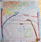 Results of workshop participatory mapping exercise.